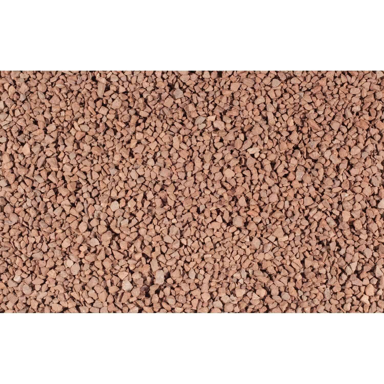 Porphyr splitt rot 8 mm 16 mm 1000 kg big bag kaufen for Obi zierkies