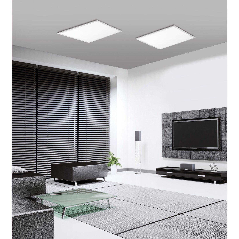 Designer Deckenleuchte Roma 30 Kaufen: LED-Panel 30x30cm, Dimmbar, 4000K Ultraflaches Design EEK