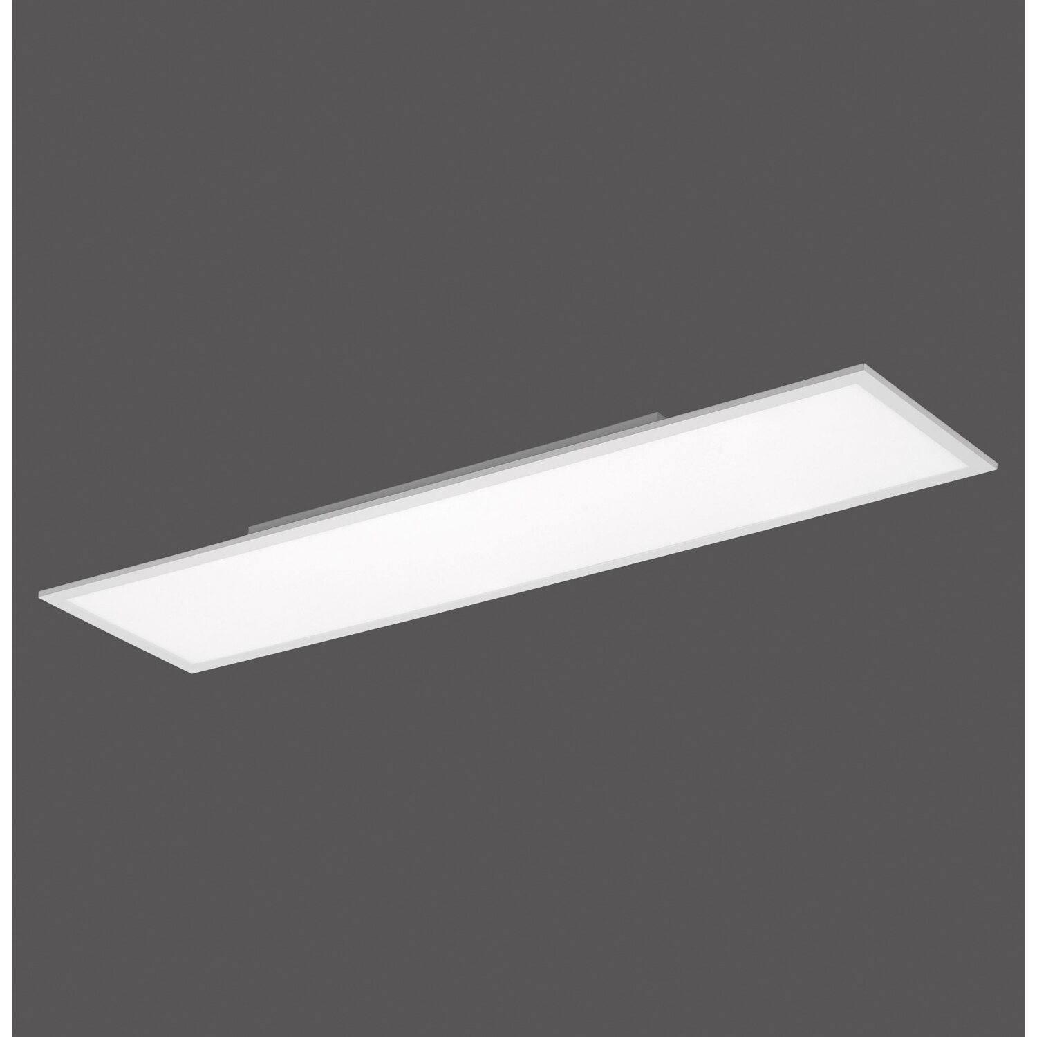 Led panel 120x30cm dimmbar 4000k ultraflaches design for Lampen led deckenleuchten