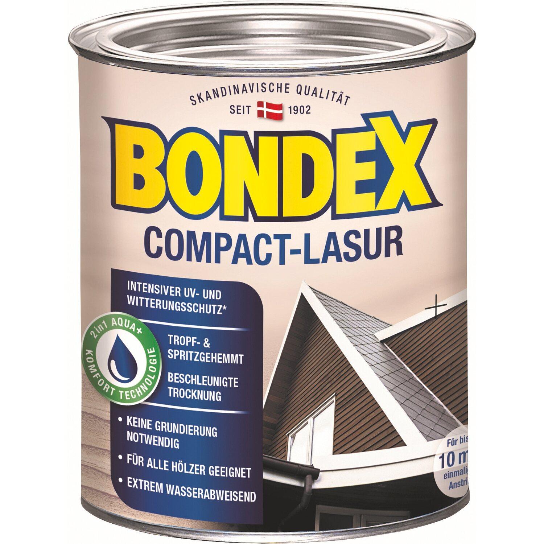 bondex compact lasur wei 750 ml kaufen bei obi. Black Bedroom Furniture Sets. Home Design Ideas