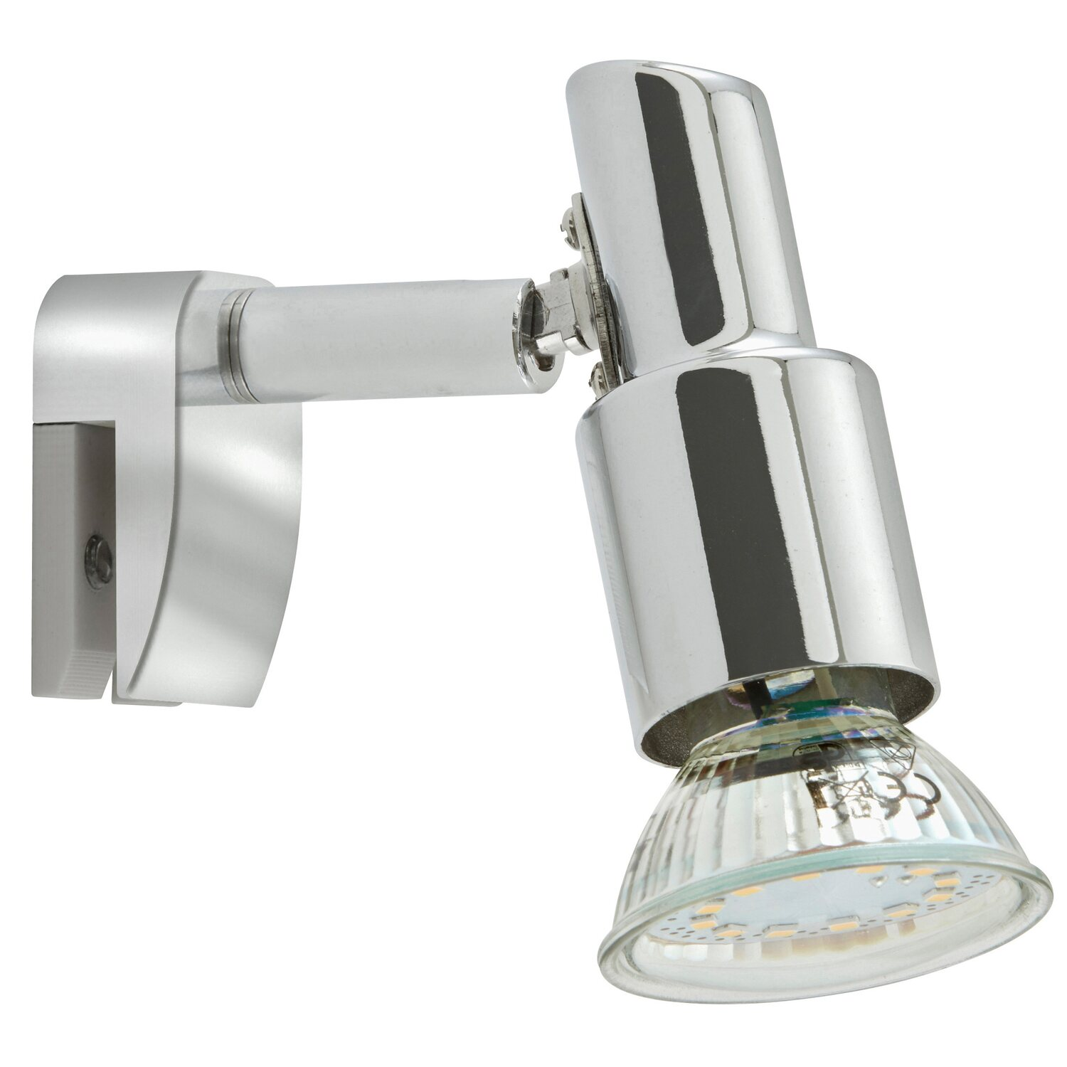 Briloner   LED-Bad-Spiegelleuchte Splash IP 20 EEK: A - A+ Chrom