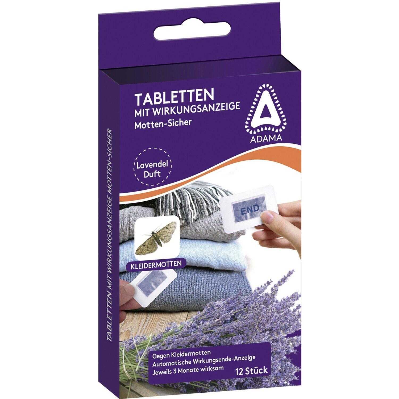 Adama  Motten-Sicher Tabletten 12 Stück