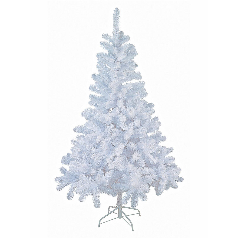 k nstlicher weihnachtsbaum 180 cm wei kaufen bei obi. Black Bedroom Furniture Sets. Home Design Ideas