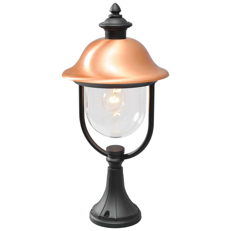 MW Light Außenleuchte EEK: E-A++ Dubai Schwarz H: 52 cm