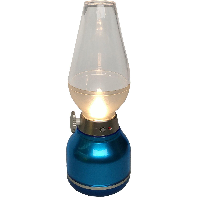 lightme led akku tischleuchte kabellos blau inkl ladekabel eek a a kaufen bei obi. Black Bedroom Furniture Sets. Home Design Ideas