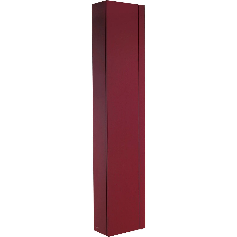 Badezimmerschrank Rot: Esprit Hochschrank Rot Links Kaufen Bei OBI