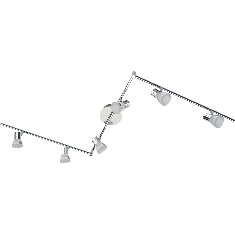 Wofi LED-Spot 6er Steele EEK: A+