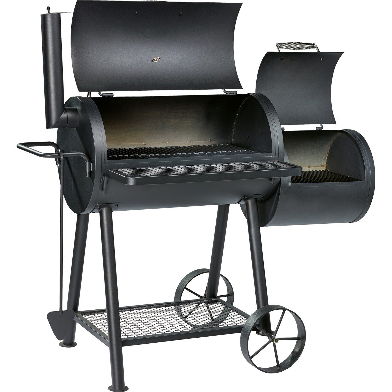 jamestown holzkohle grill smoker charlton mit zwei grillfl chen kaufen bei obi. Black Bedroom Furniture Sets. Home Design Ideas