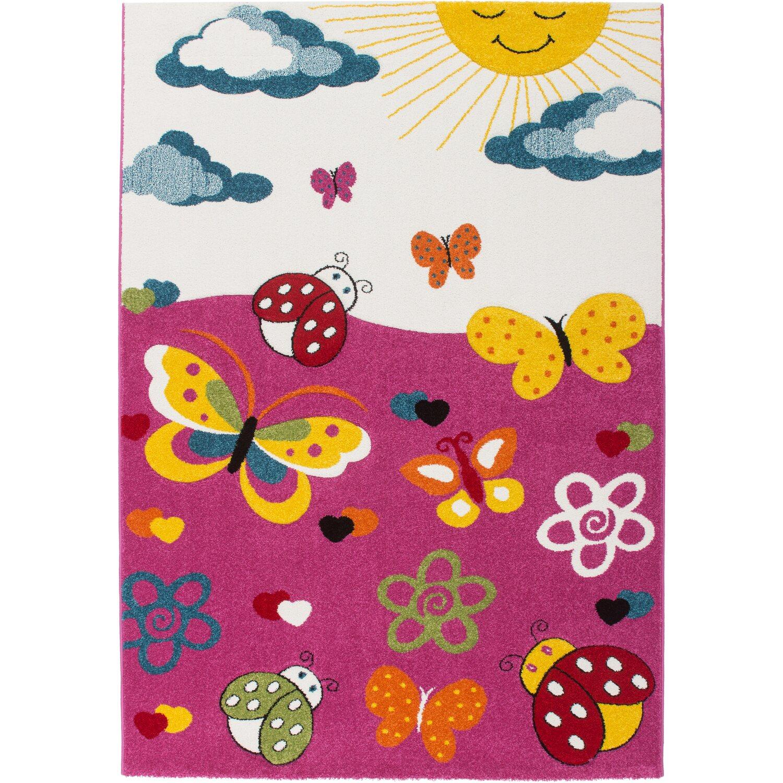 teppich bellino 434 pink 160 cm x 230 cm kaufen bei obi. Black Bedroom Furniture Sets. Home Design Ideas