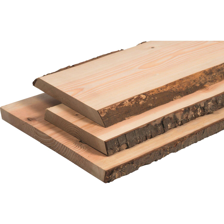 Massivholz Douglasie Unbesaumt 120 Cm X 40 Cm X 3 Cm Kaufen Bei Obi