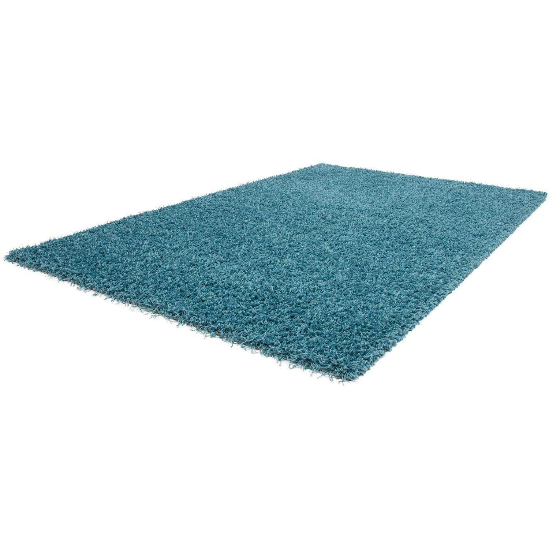 teppich base 270 blau 160 cm rund kaufen bei obi. Black Bedroom Furniture Sets. Home Design Ideas