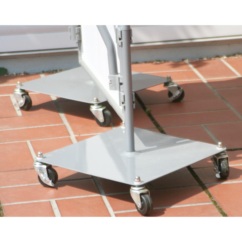 Floracord Paravent rollbare Fußplatte Preisvergleich