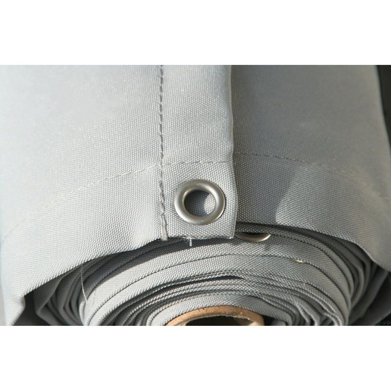 Floracord Balkonverkleidung Silbergrau 75 Cm X 500 Cm