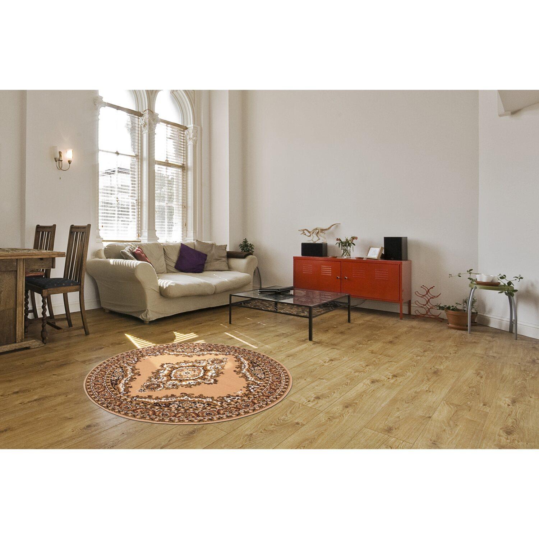 Teppich Oriental 222 Beige ø 120 Cm Rund