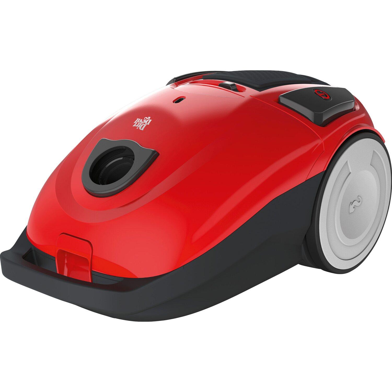 Dirt Devil  Bodenstaubsauger Capoera 1.1 EEK: B 800 Watt Red
