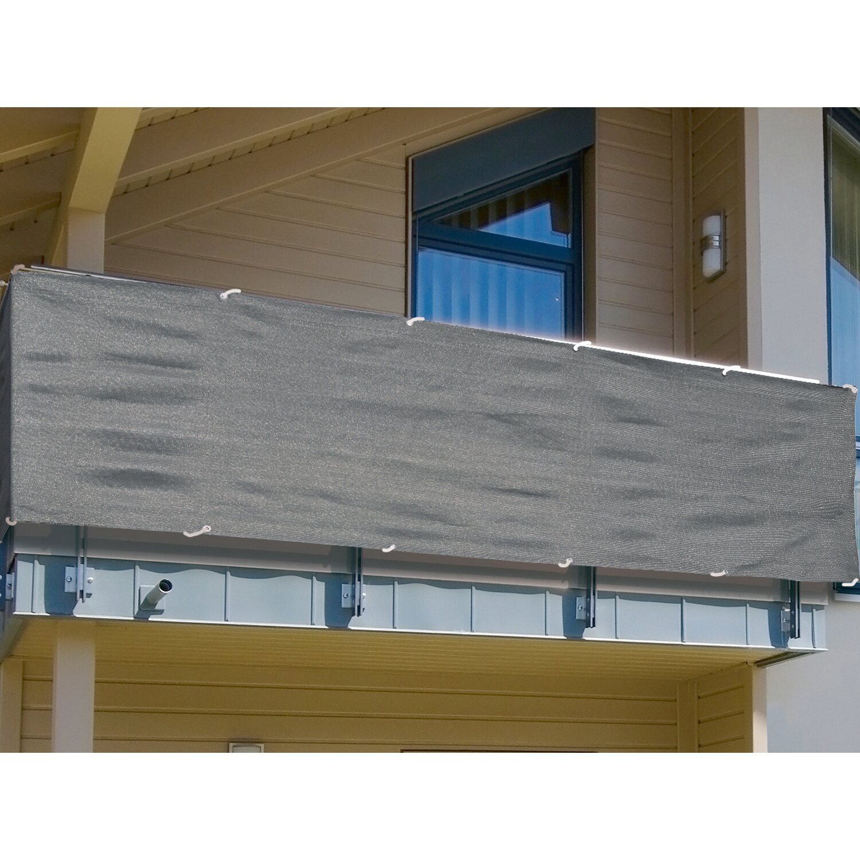 Balkonsichtschutz 90 Cm Anthrazit Meterware Kaufen Bei Obi