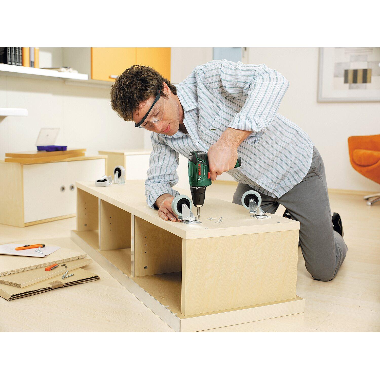 bosch akku bohrschrauber psr 10 8 li 10 8 v inkl 31 tlg bit set kaufen bei obi. Black Bedroom Furniture Sets. Home Design Ideas