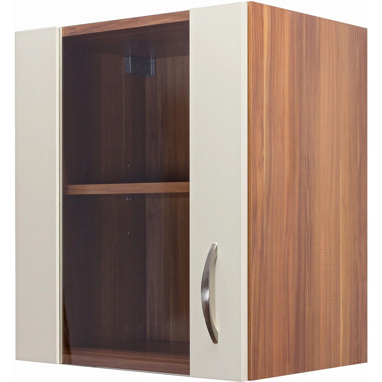 flex well exclusiv h ngeschrank sienna 50 cm creme zwetschge nachbildung kaufen bei obi. Black Bedroom Furniture Sets. Home Design Ideas
