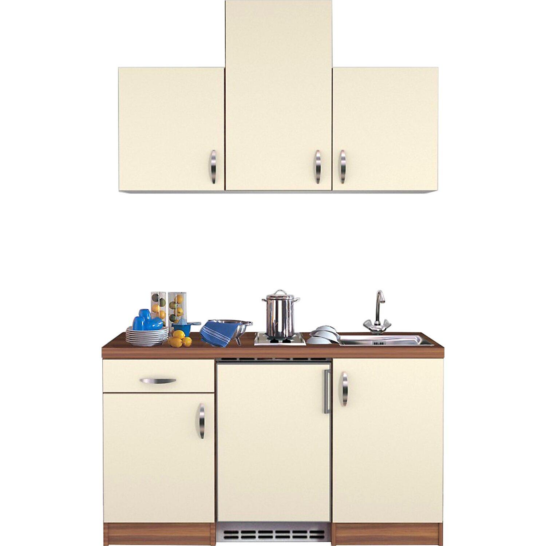 flex well exclusiv k chenzeile sienna 150 cm creme zwetschge nachbildung kaufen bei obi. Black Bedroom Furniture Sets. Home Design Ideas
