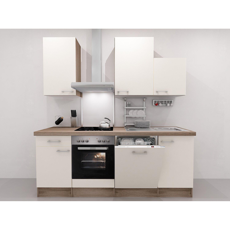 flex well exclusiv k chenzeile eico 220 cm magnolienwei tennessee eiche kaufen bei obi. Black Bedroom Furniture Sets. Home Design Ideas