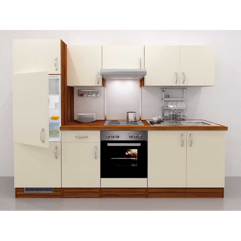flex well exclusiv k chenzeile sienna 270 creme zwetschge nachbildung kaufen bei obi. Black Bedroom Furniture Sets. Home Design Ideas