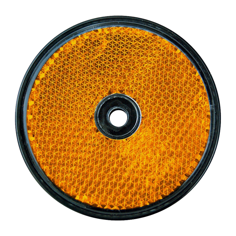 las runder reflektor f r pkw anh nger 2 st ck orange kaufen bei obi. Black Bedroom Furniture Sets. Home Design Ideas