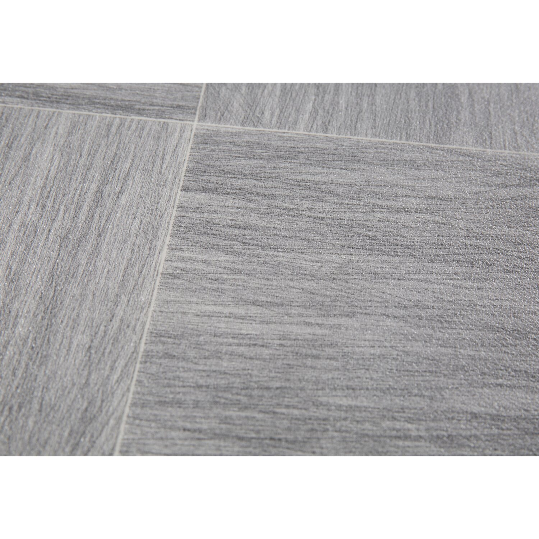 Küchenboden Grau: PVC-Bodenbelag Fashion Grau Meterware 400 Cm Breit Kaufen