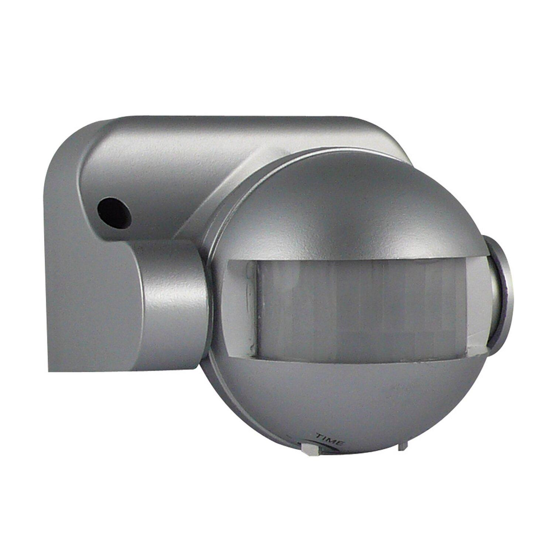 Bewegungsmelder 180° Silber