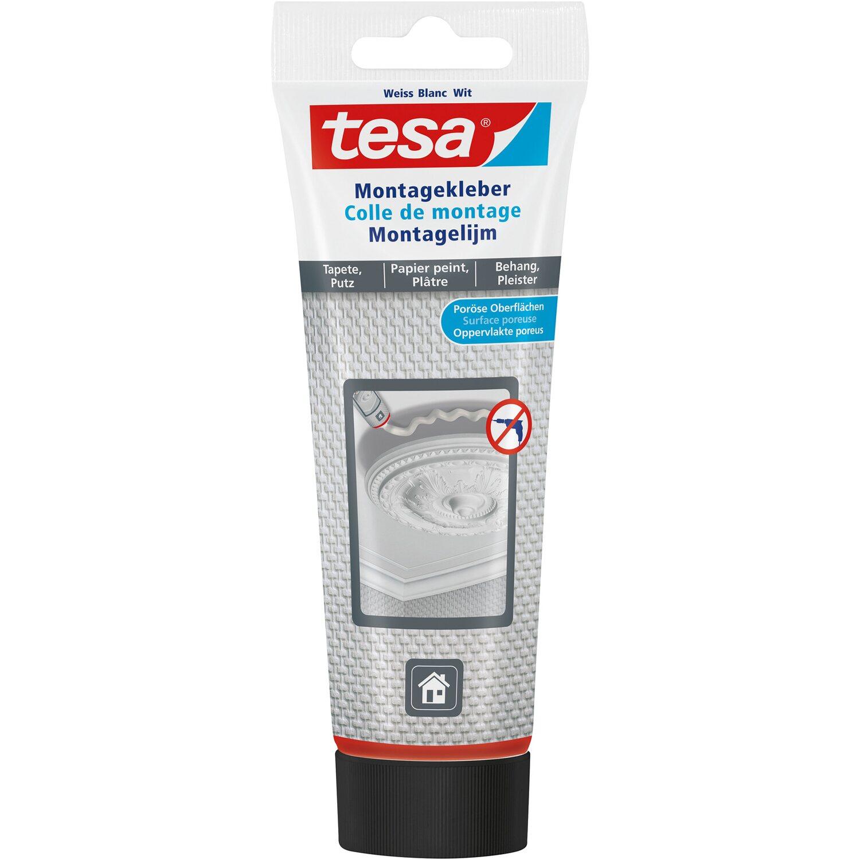 Tesa Montagekleber für Tapeten und Putz 90 g