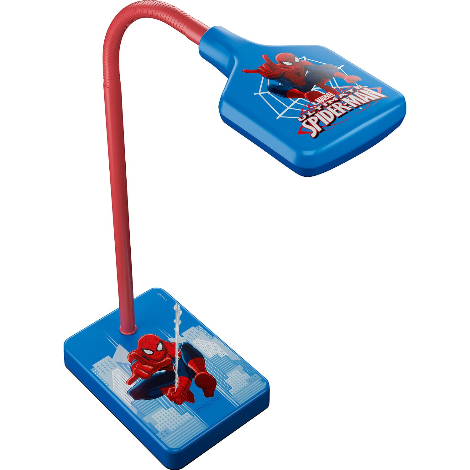 philips led tisch kinderleuchte disney eek a a spiderman kaufen bei obi. Black Bedroom Furniture Sets. Home Design Ideas