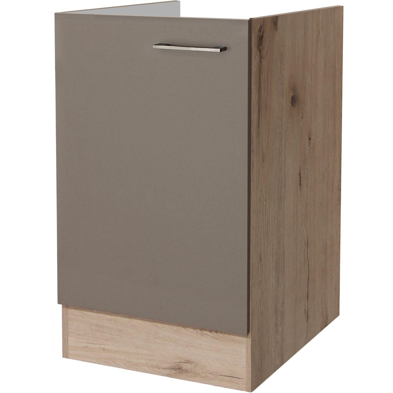k chenschr nke grau online kaufen bei obi. Black Bedroom Furniture Sets. Home Design Ideas