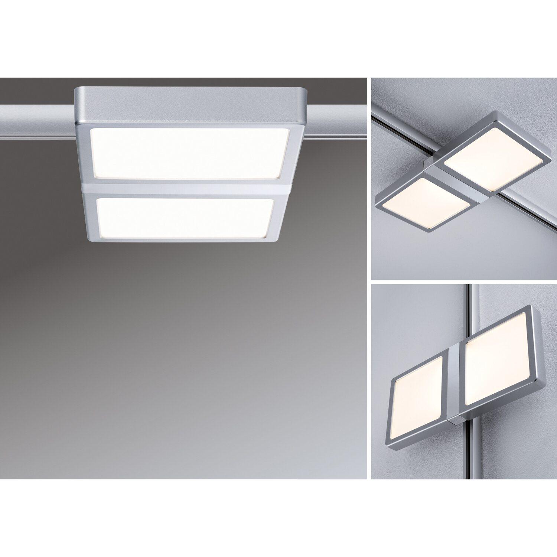 paulmann urail led panel double 8 w chrom matt eek a a. Black Bedroom Furniture Sets. Home Design Ideas
