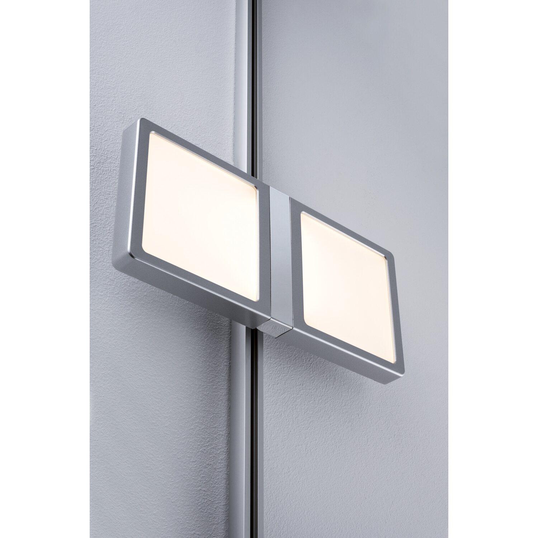 paulmann urail led panel double 8 w chrom matt eek a a kaufen bei obi. Black Bedroom Furniture Sets. Home Design Ideas
