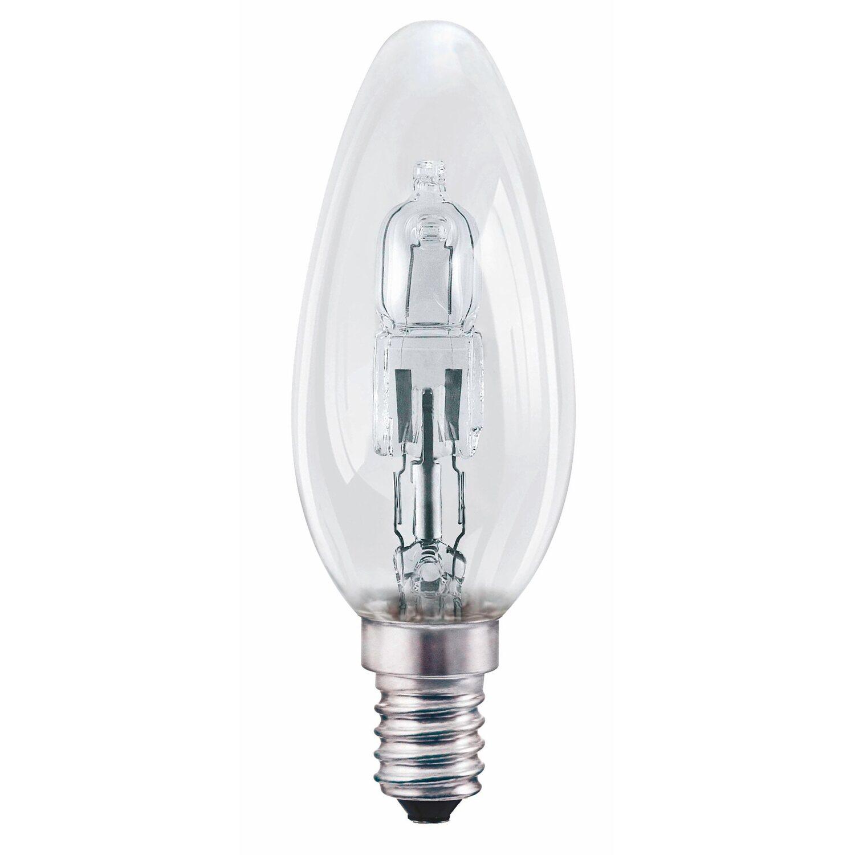 Osram E14 46W klar Halogenlampe Classic B Kerzenform