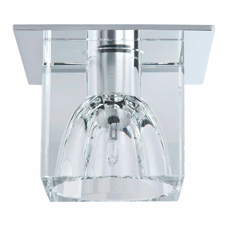 paulmann halogen einbauleuchten 3er set quality line glassy cube eek c kaufen bei obi. Black Bedroom Furniture Sets. Home Design Ideas