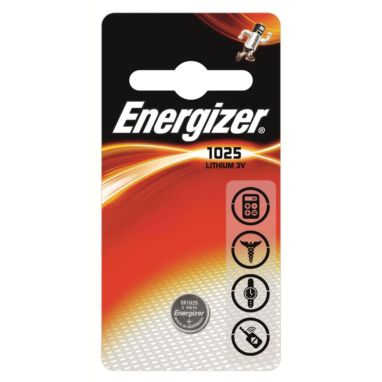 Energizer Knopfzelle Lithium CR 1025