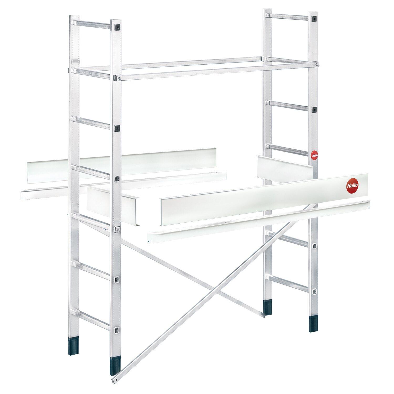 Hailo  Alu-Leitern-Gerüst Zusatzelement für ProfiStep® multi