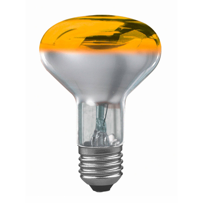 Paulmann Glühlampe Reflektor R80 E27 / 60 W Gelb