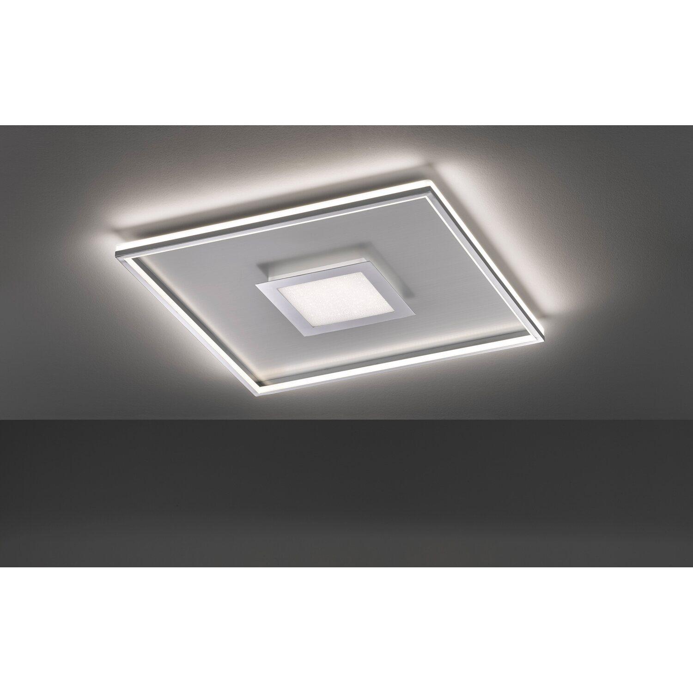 Fischer & Honsel LED Deckenleuchte Zoe Aluminium matt 60 cm x 60 cm EEK: A++ A