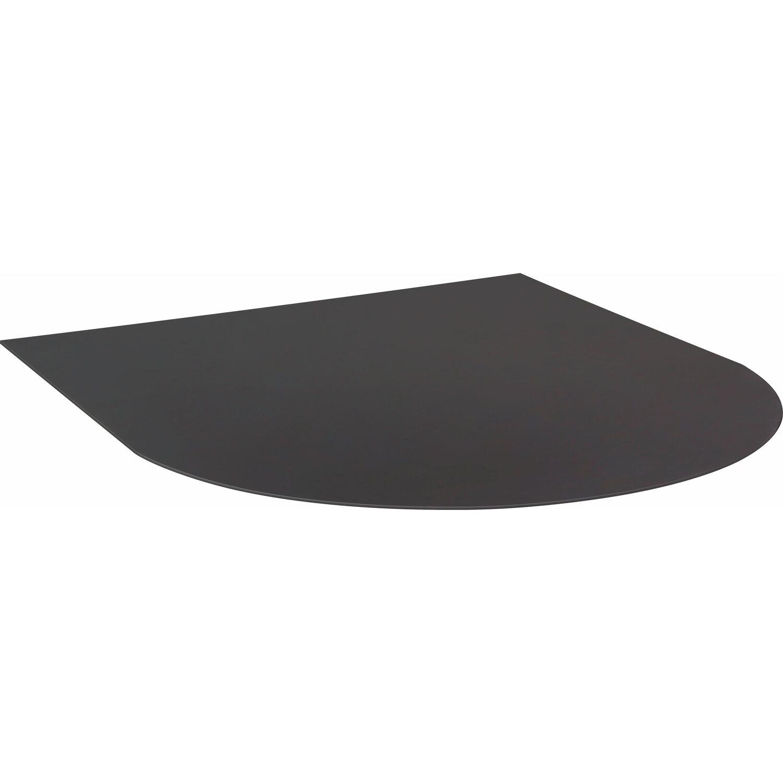 Firefix  Stahlbodenplatte Schwarz