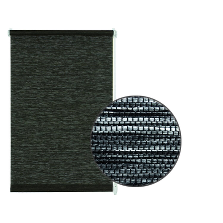 gardinia easyfix rollo natur 75 cm x 150 cm black white kaufen bei obi. Black Bedroom Furniture Sets. Home Design Ideas