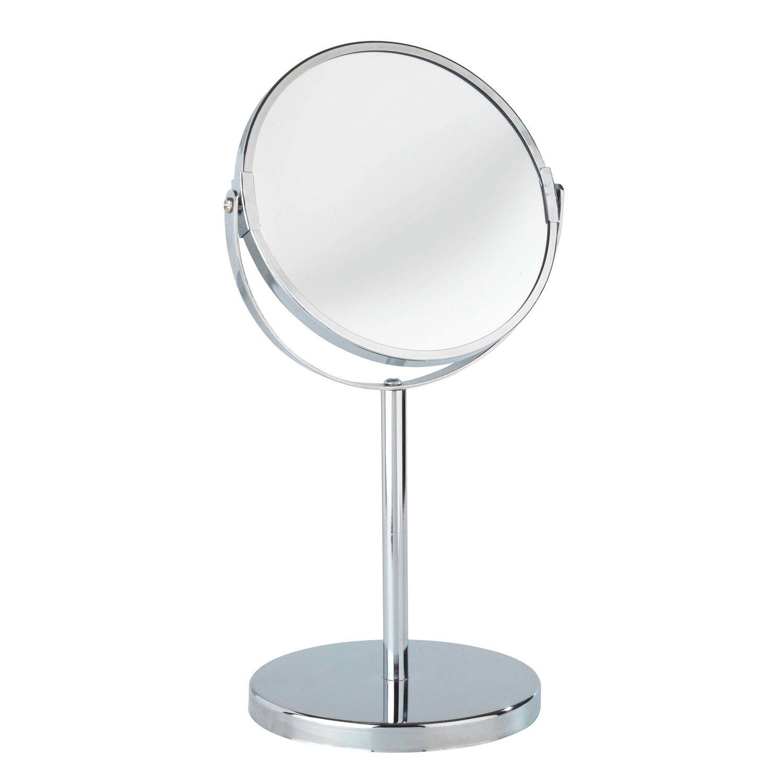 Wenko Kosmetik Standspiegel Assisi Chrom Glänzend