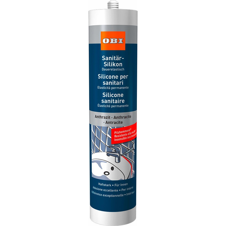 OBI  Sanitär-Silikon Anthrazit 310 ml