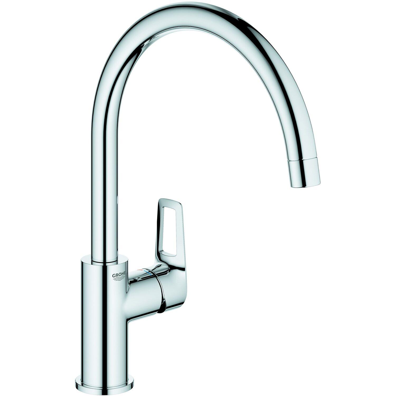 Wasserhahn Spültischarmatur Küchenarmatur Armatur Küche schwenkbarer Auslauf MU