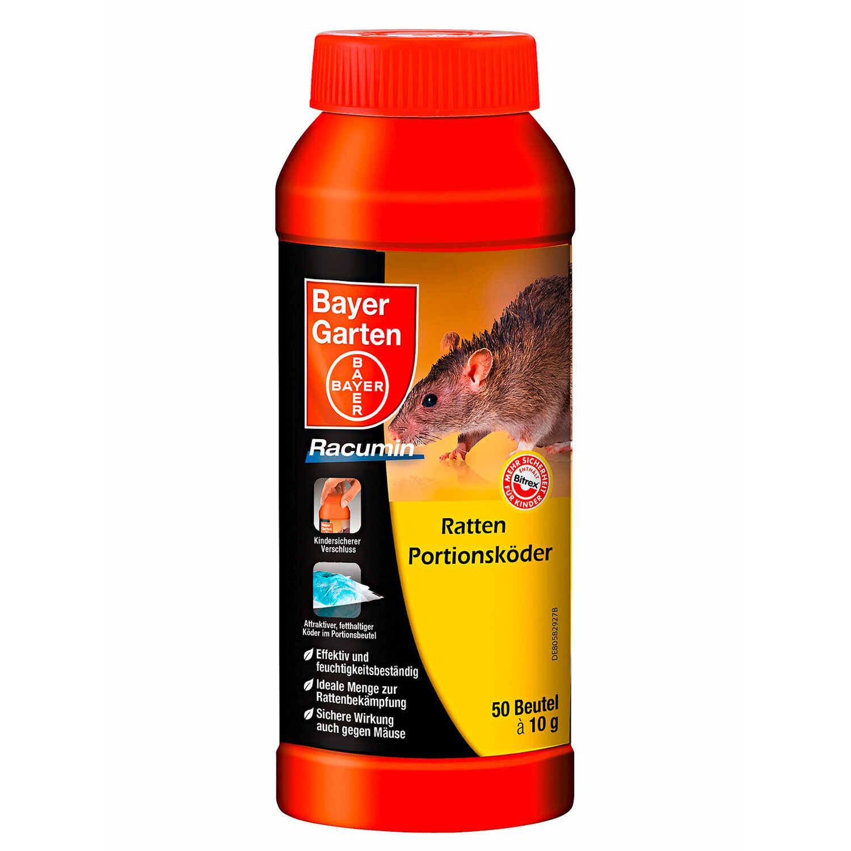 Bayer Garten Bayer Ratten & Mäuse-Portionsköder - 500 g