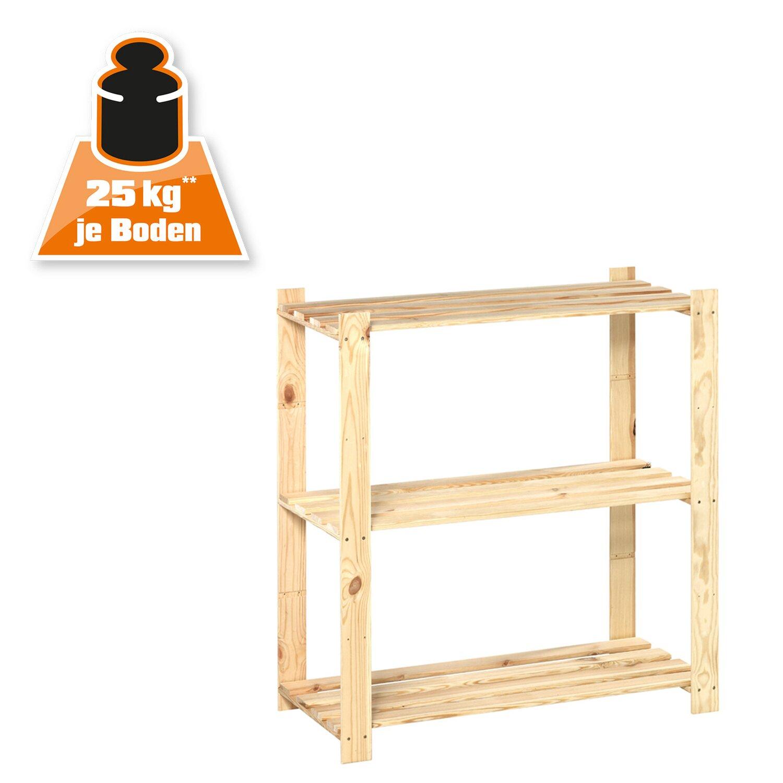 OBI Holz Schraubregal 91 Cm X 85 40