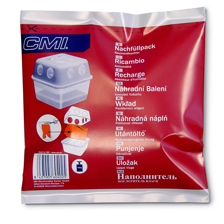 CMI Raumentfeuchter Nachfüllpack Neutral 450 g