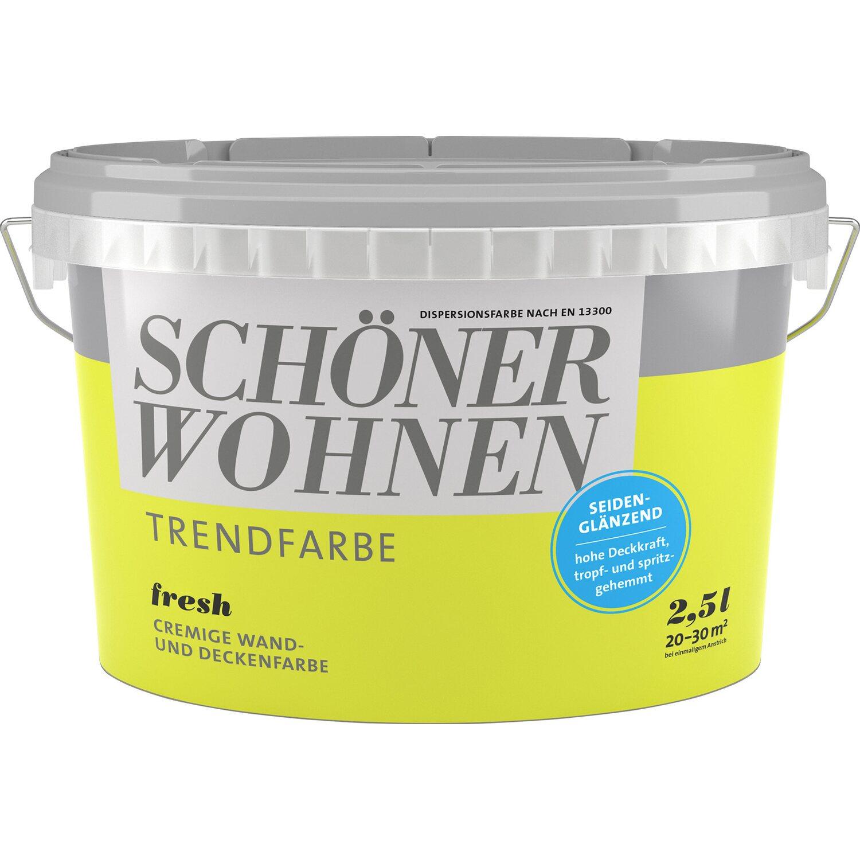 Obi Weiße Farbe : sch ner wohnen trendfarbe fresh seidengl nzend 2 5 l kaufen bei obi ~ Watch28wear.com Haus und Dekorationen