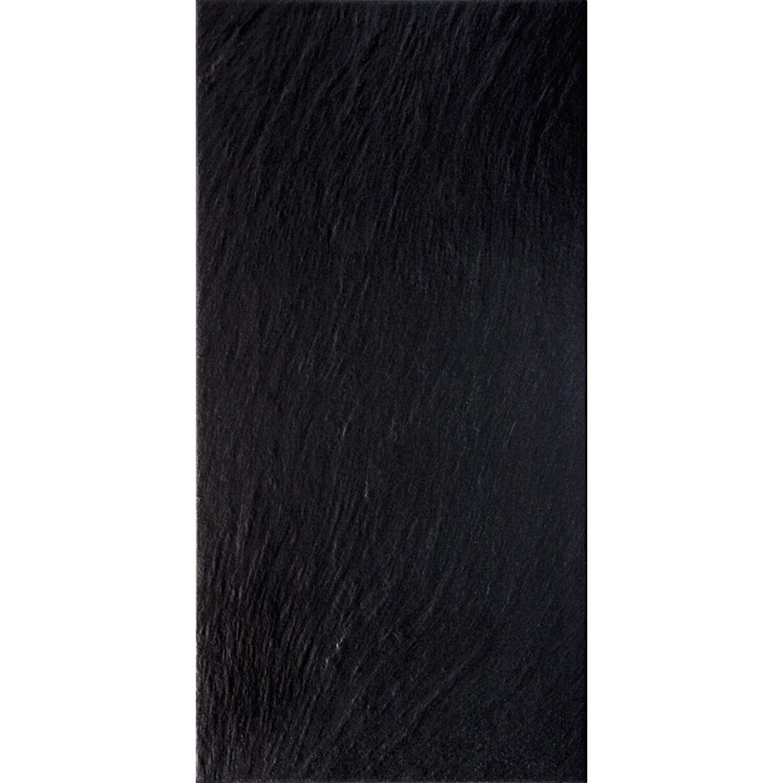 Sonstige Feinsteinzeug Vesuvio Nero 30 cm x 60,4 cm