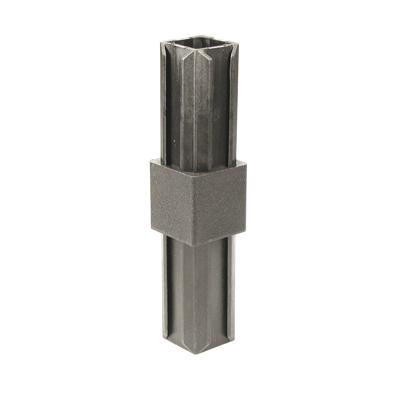 XD-Rohrverbinder gerade Schwarz für Ø 20 mm